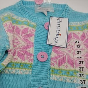 NWT Hartstrings Cardigan Sweater 3T